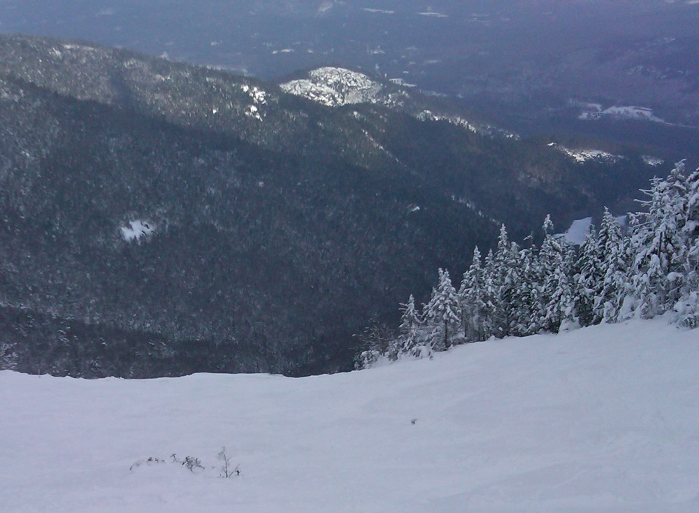 Whiteface Slides Open