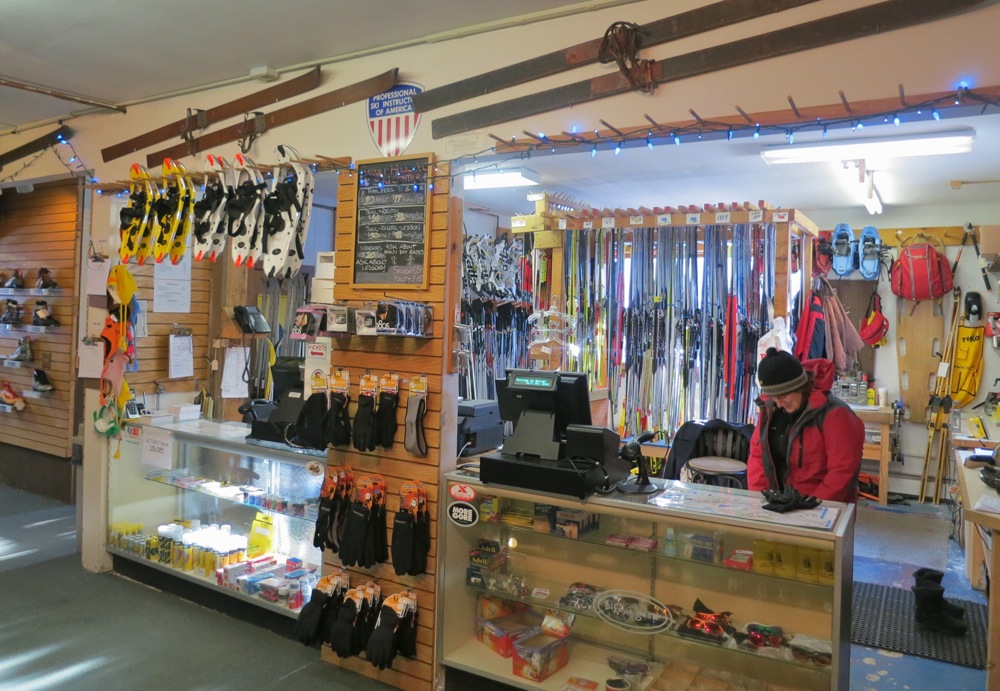 Garnet Hill Lodge Ski Shop