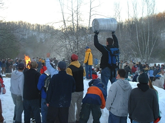 St Lawrence Snow Bowl party
