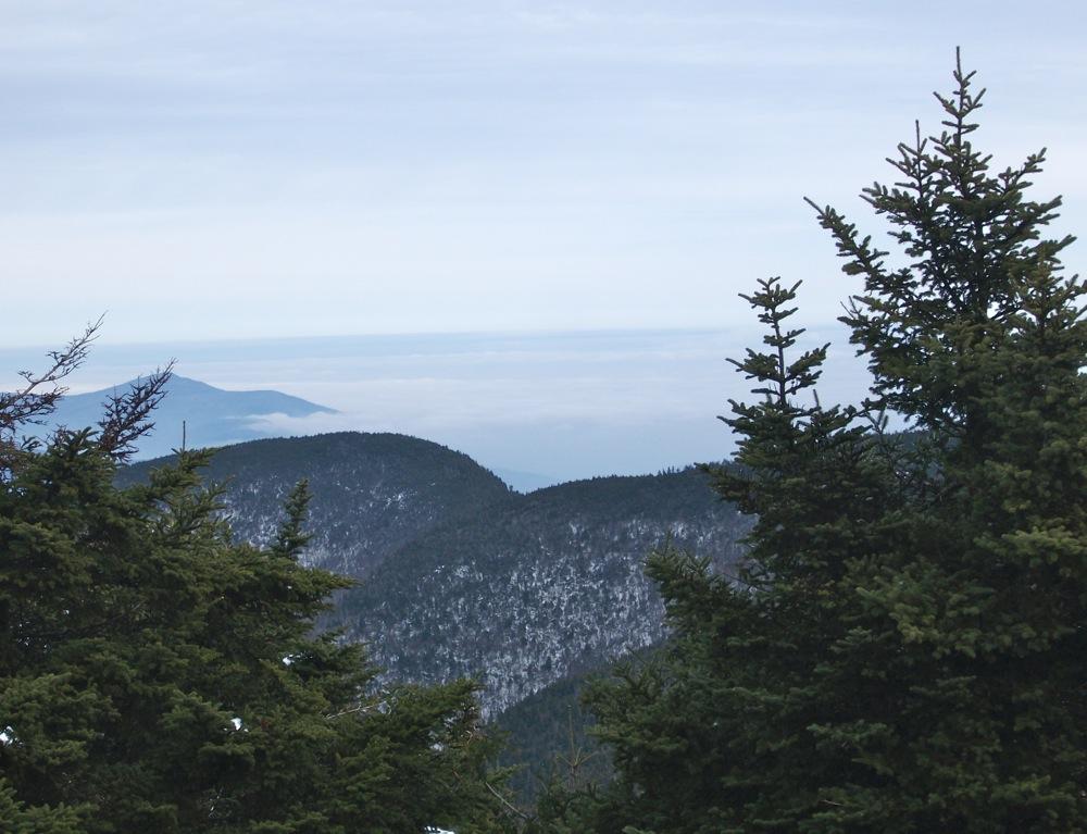 Slide Mountain NY summit view