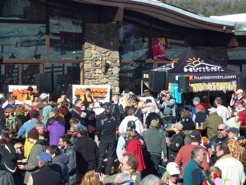 Hunter Mountain Apres Ski Beach Bash Band