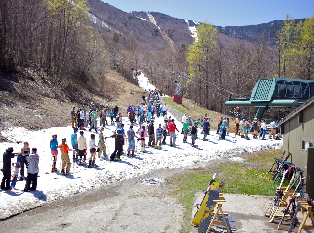 Sugarbush-Lift-Line