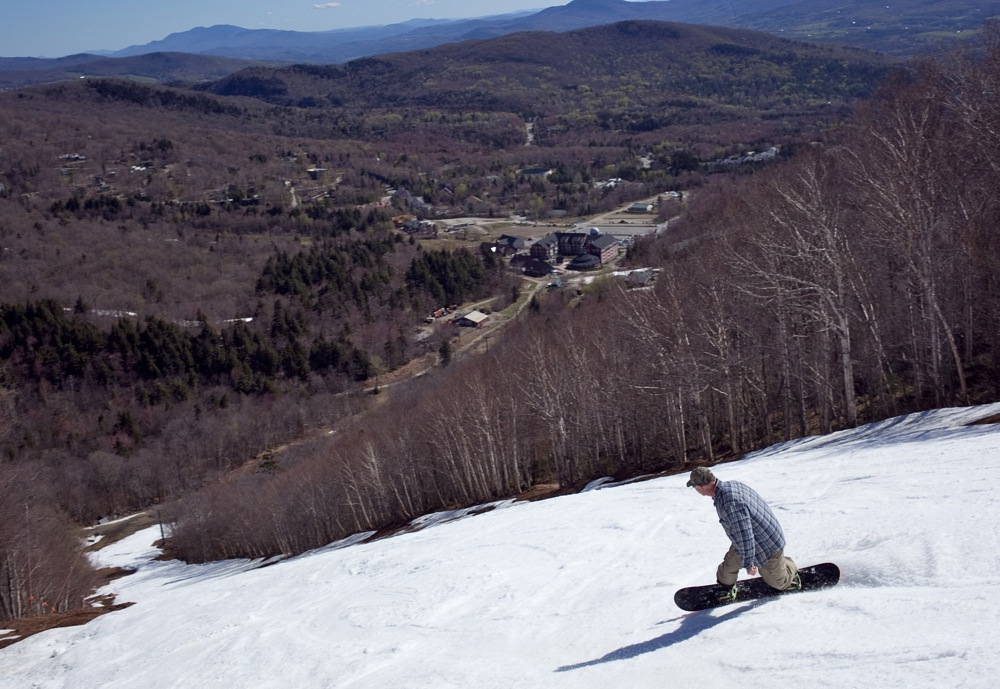 Sugarbush-VT-Snowboarder