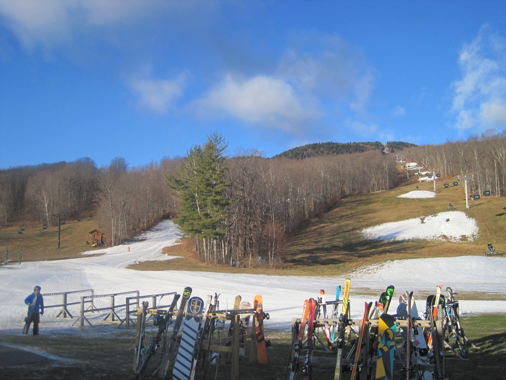 Start of the 2012/13 ski season at Gore Mountain