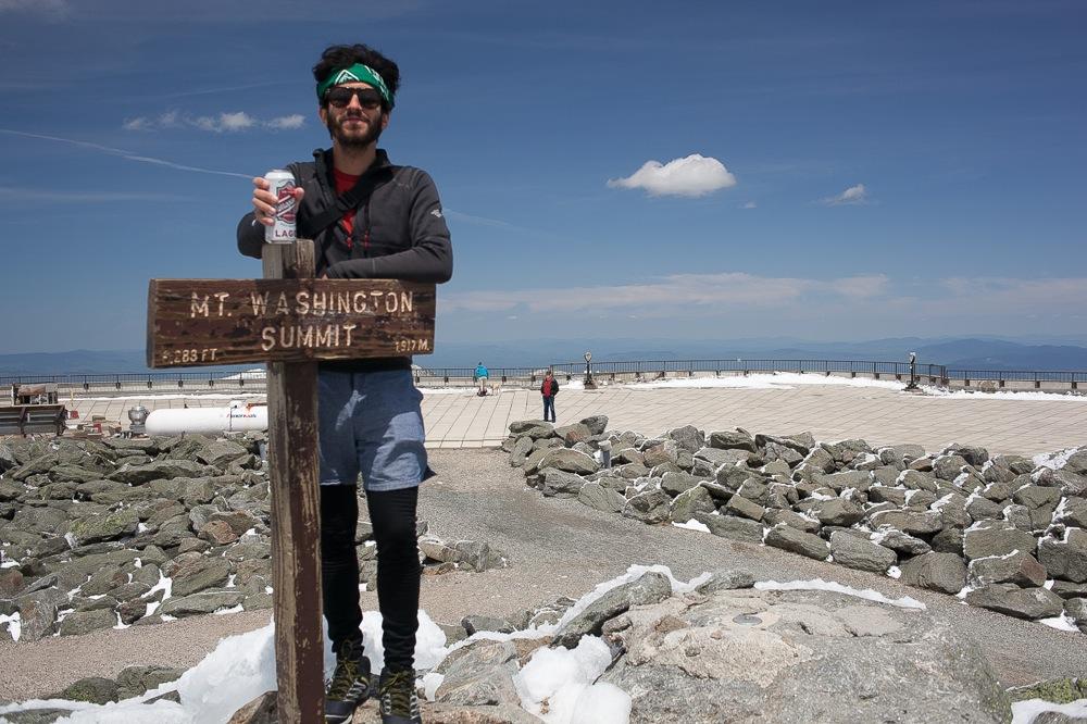 End of the Season on Mount Washington
