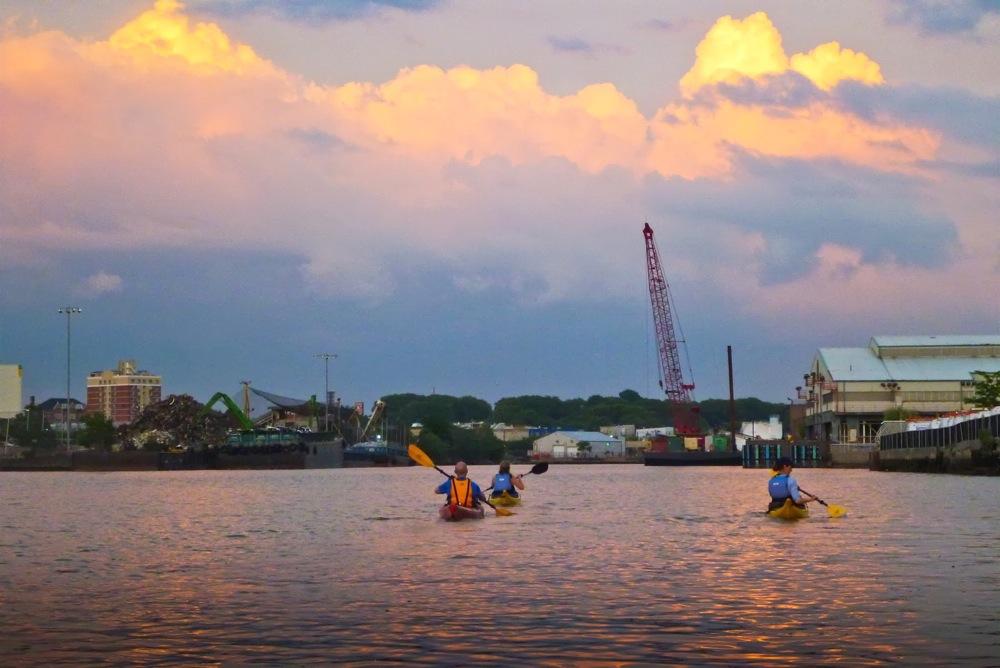 Kayaking Newtown Creek