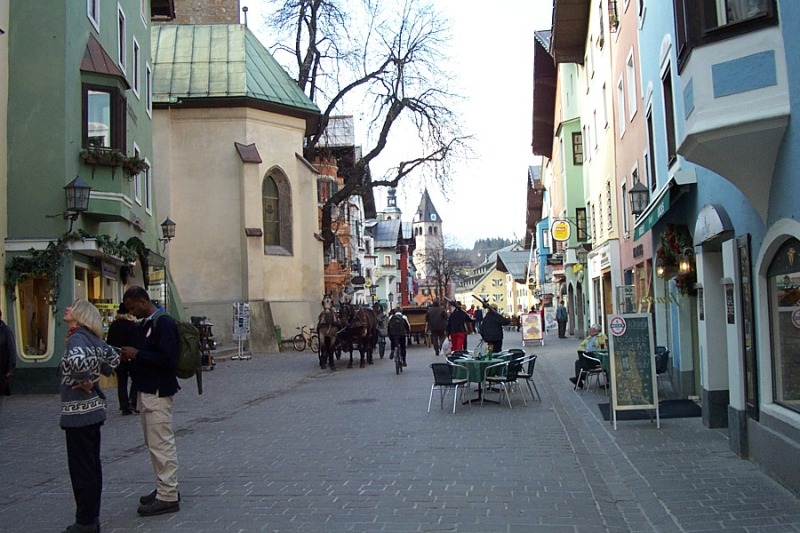kitzbuhel-village