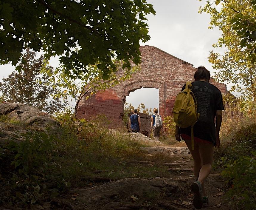Arrival at Beacon Mountain Ruins