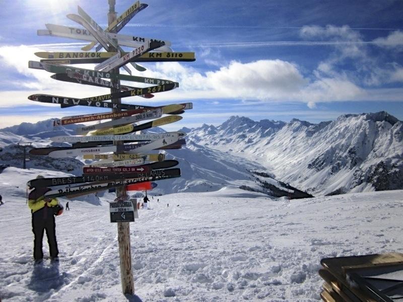 Skiing Ischgl Austria