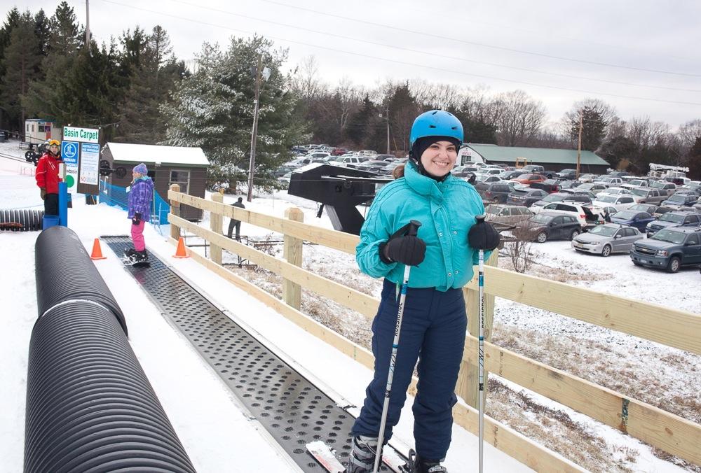 Ski Lessons move to the Magic Carpet