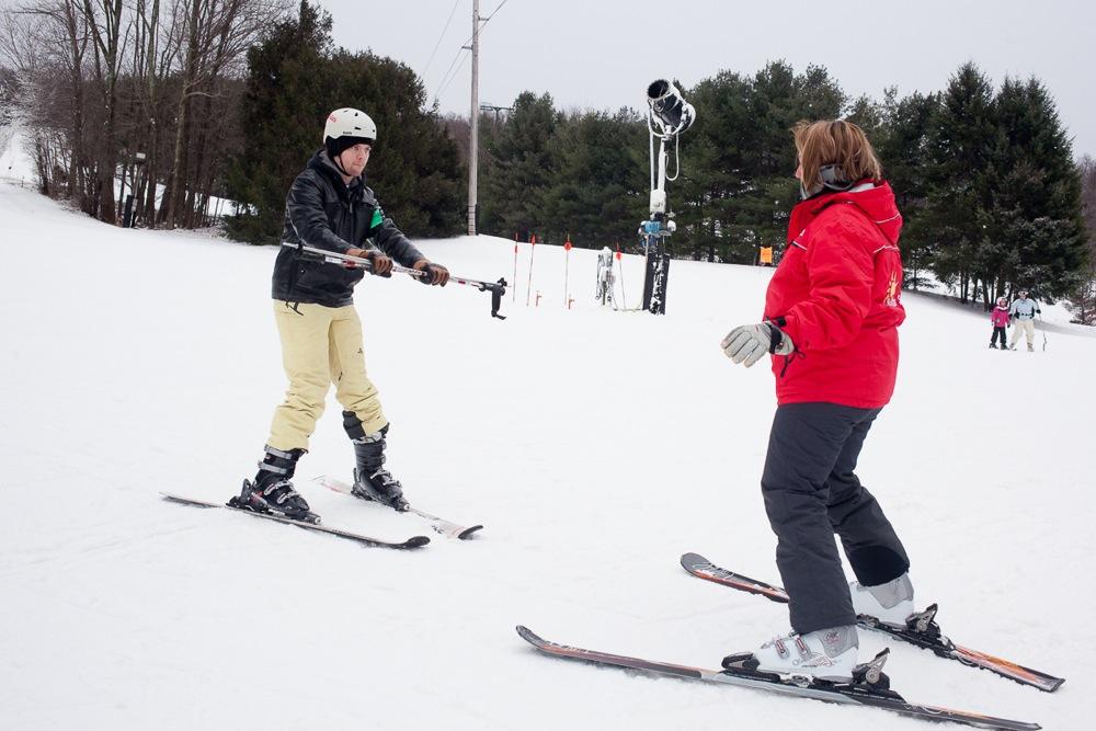 Mount-Peter-Ski Lesson