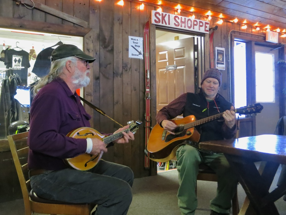 Mandolin Player and Guitarist at Plattekill