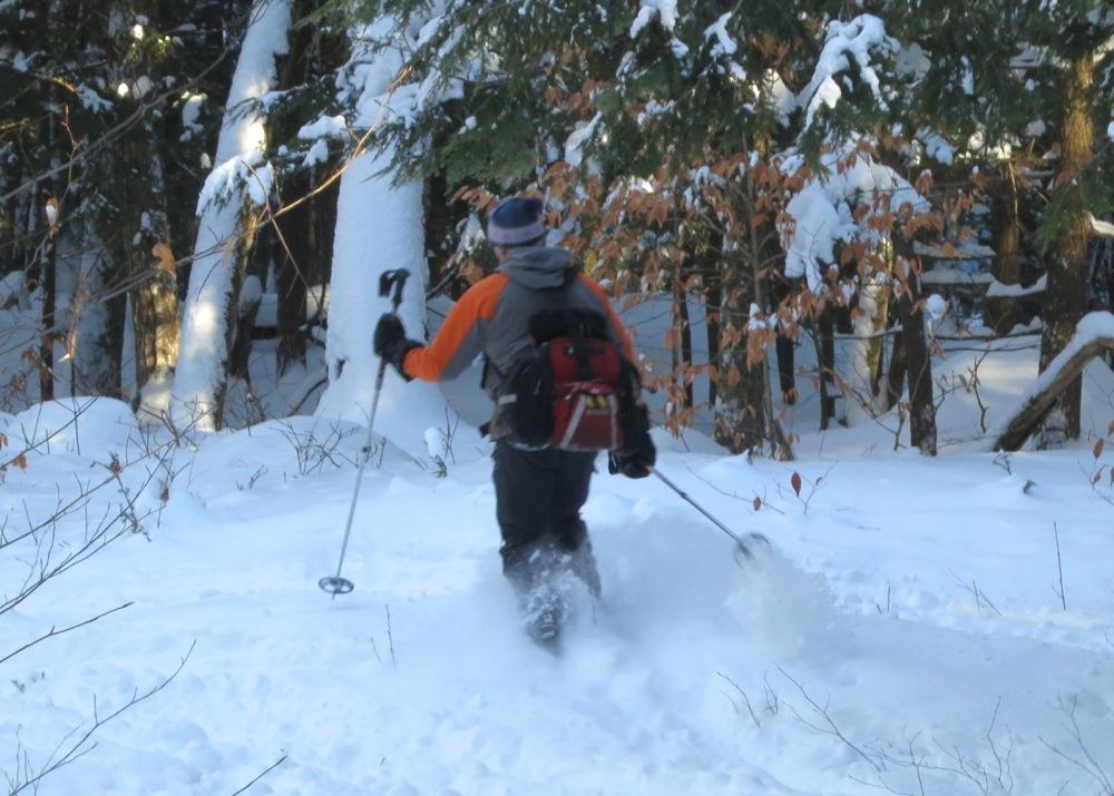Steve Ovitt on Raymond Brook Trail