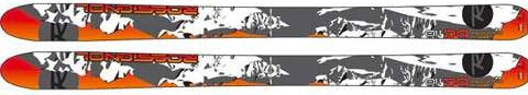 wide waxless backcountry skis