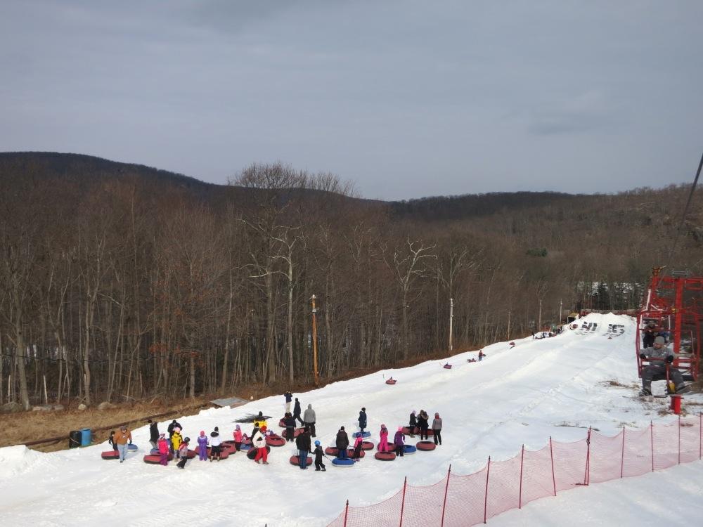 Tuxedo Ridge SnowTubing