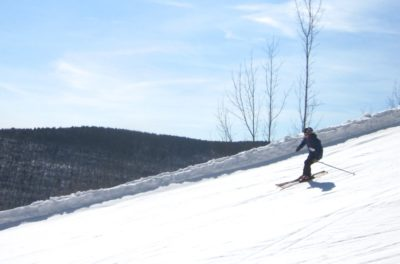 Hunter Mountain spring skiing