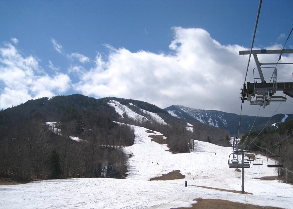 Whiteface at Easter