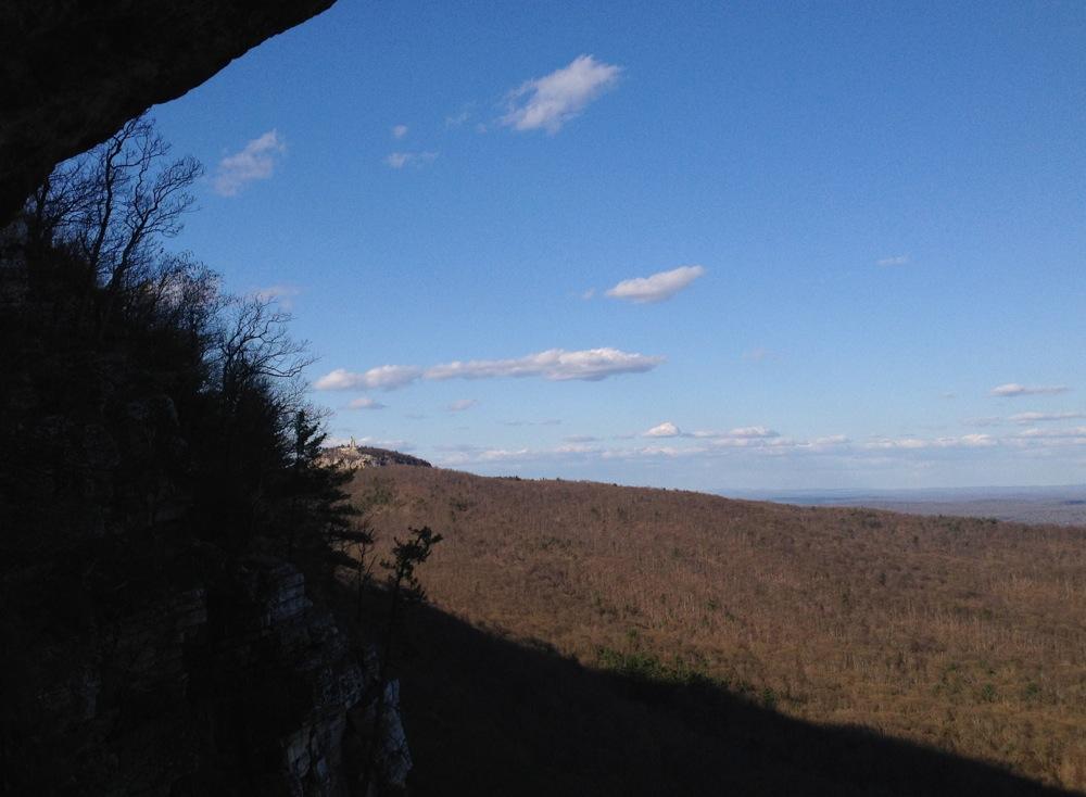 Gunks-Climb-View