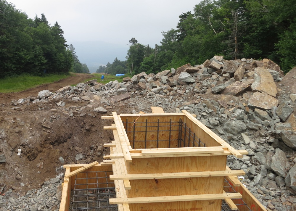 Gore Mountain improvements: new lift installation
