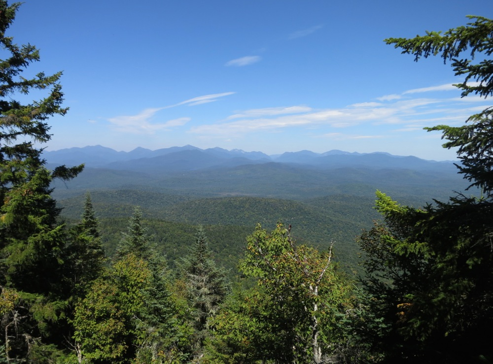 High-Peaks-View from fire tower base