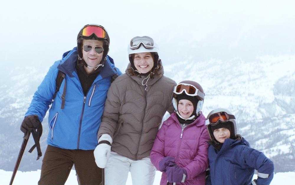 Skiing-Family