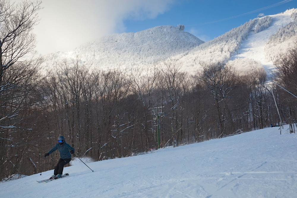 Jay-Peak-Skier at Thanksgiving