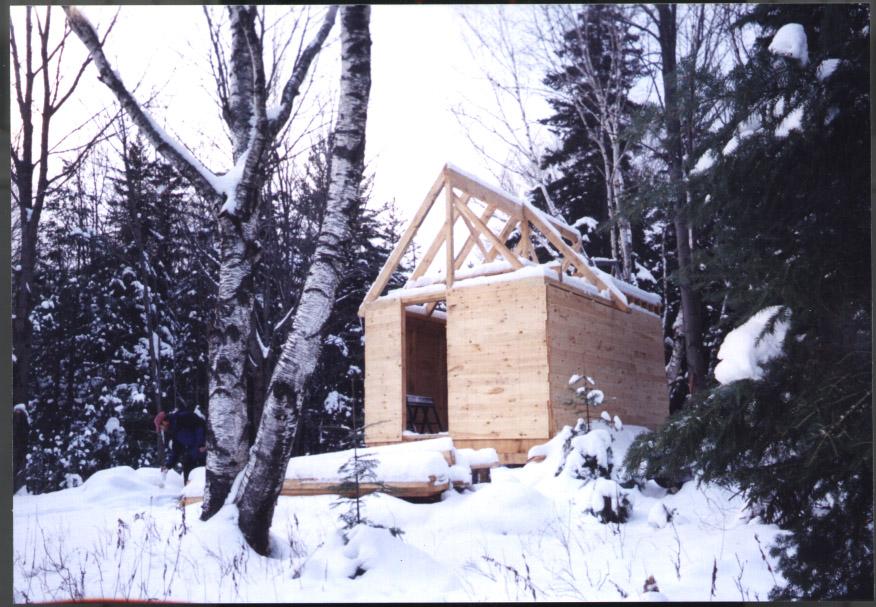 Cabin-Construction