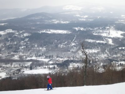 Skiing Windham Mountain