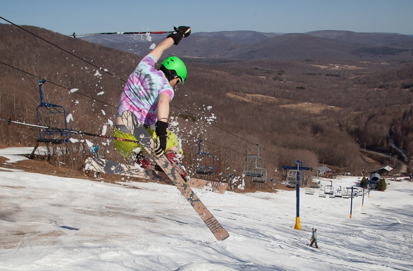 Skier-Tricks