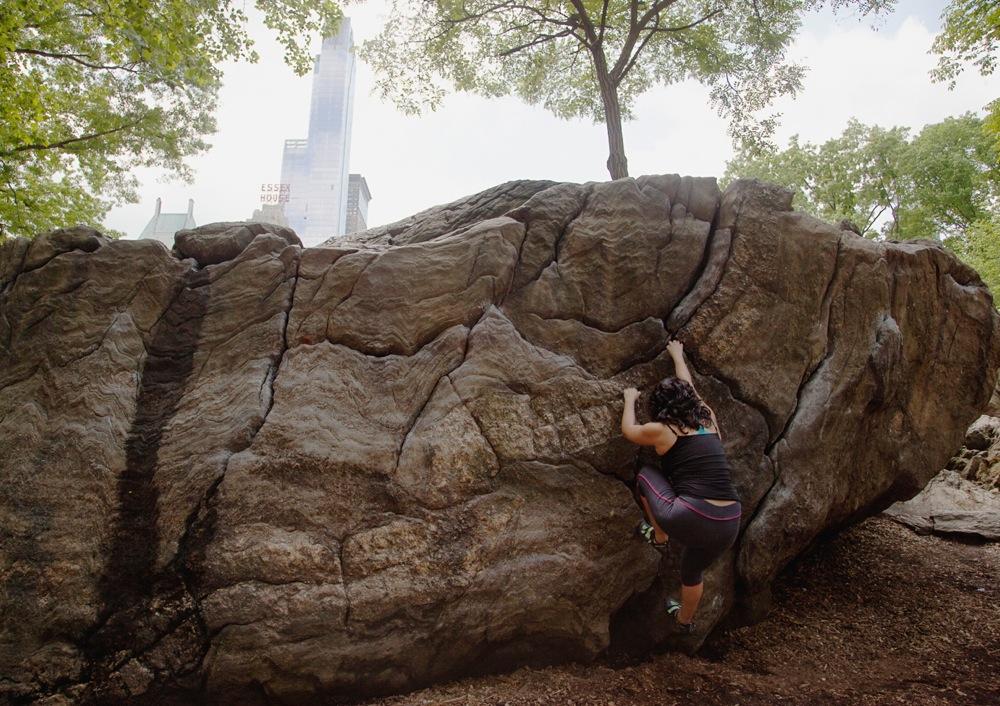 rat rock boulder central park