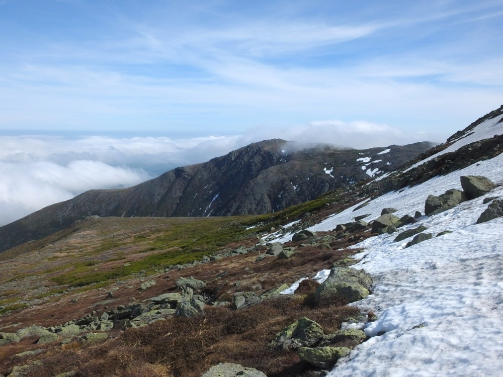 Eastern snowfields
