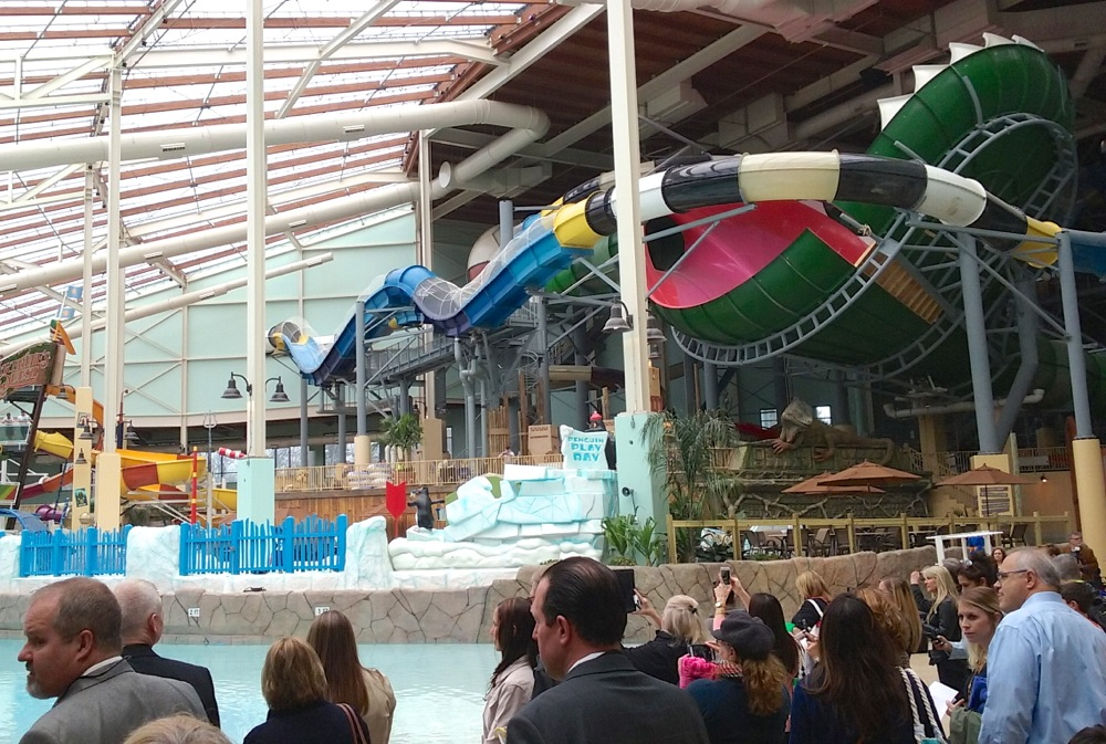 Camelback water park opening