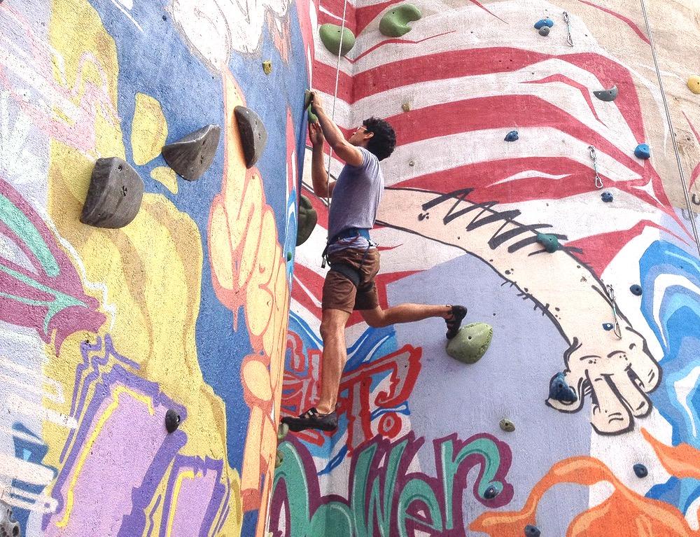 Climbing-Wall-Closeup