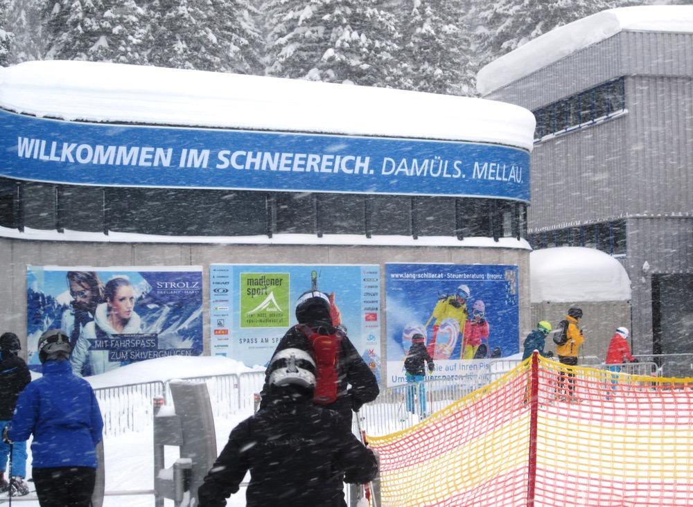 Damuls snow kingdom