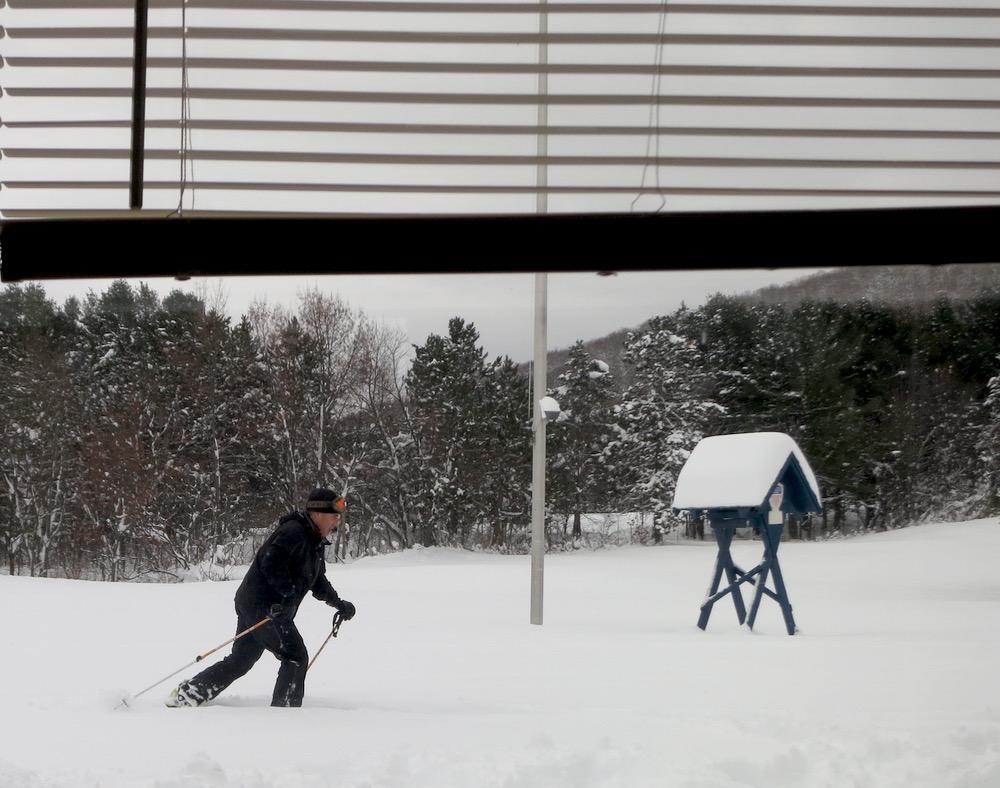 AT-skier