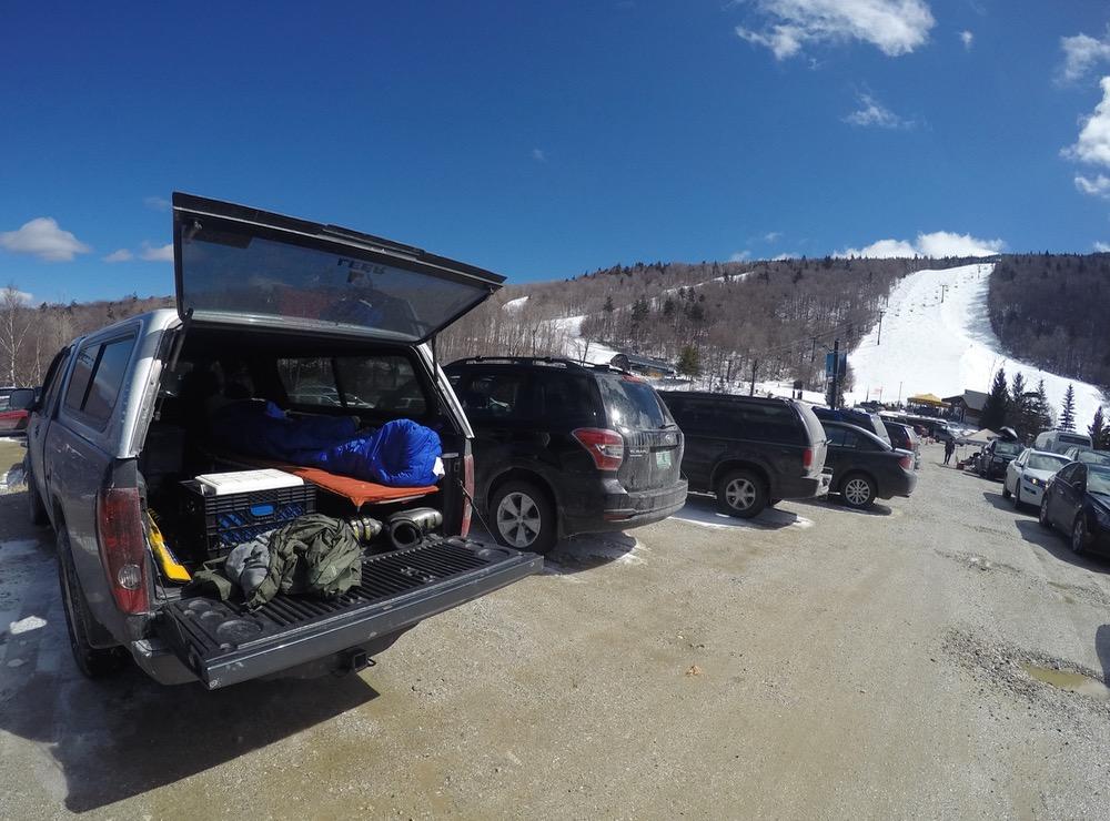 ski bum truck