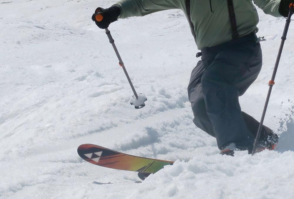 telemark skiing on ntn