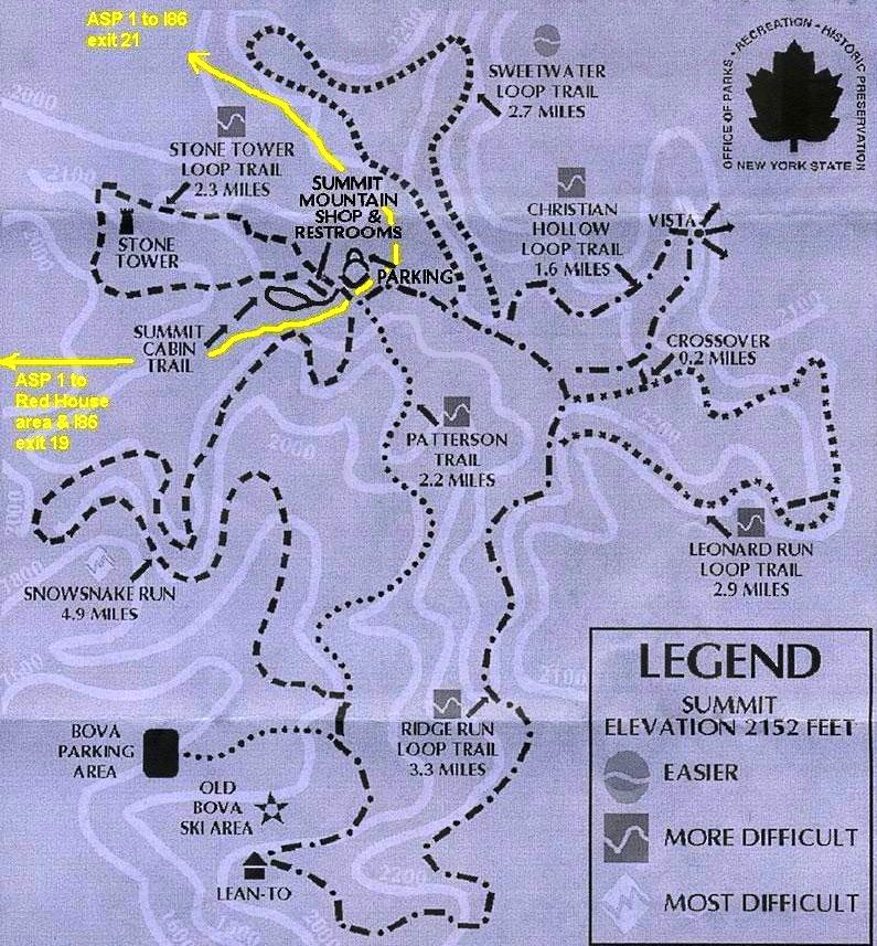 Art Roscoe trail-map