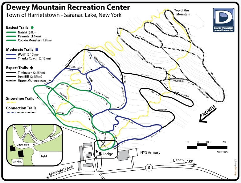 dewey-mountain-ski-trail-map