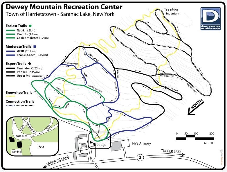 dewey-mountain-ski-trail-map