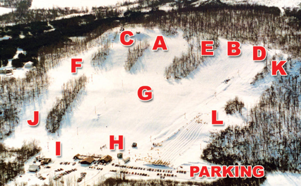 dry hill ski area trail map
