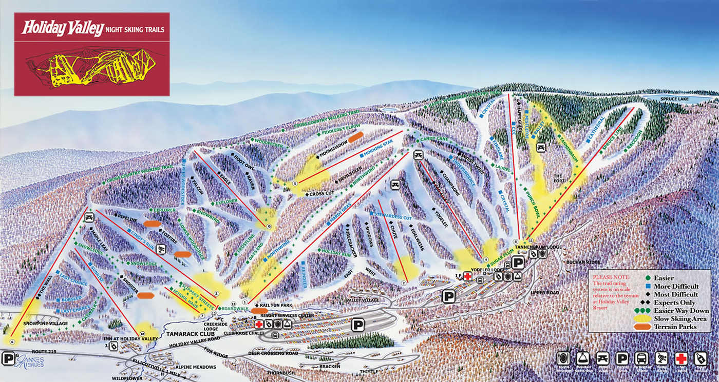 holiday-valley-ski-trail-map