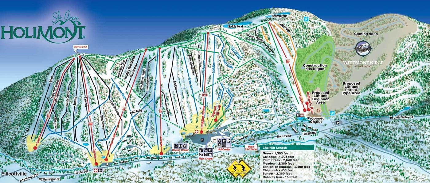 holimont-ski-trail-map