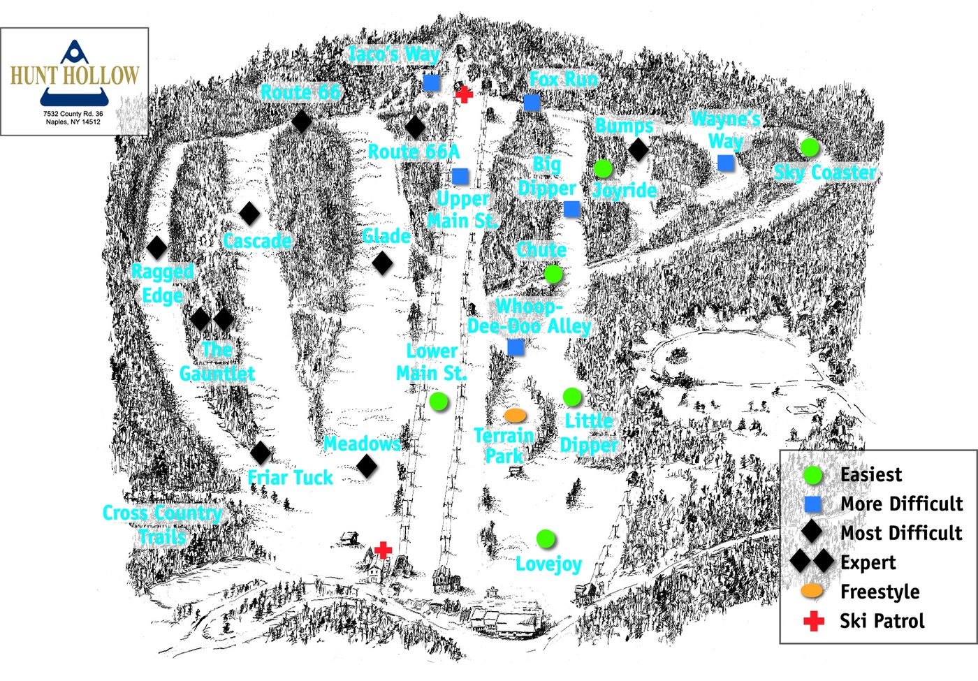 hunt-hollow-ski-trail-map