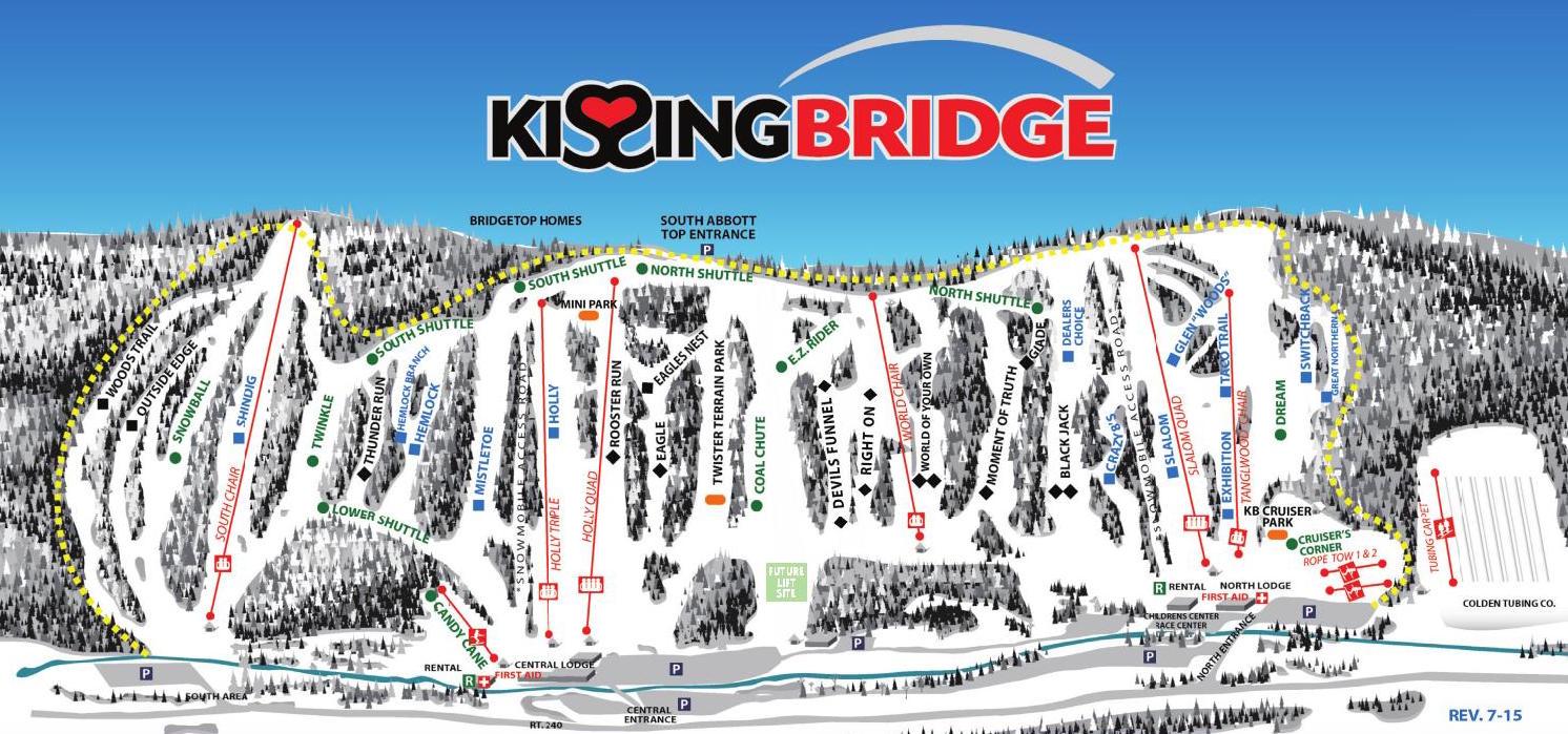 kissing-bridge-trail-map