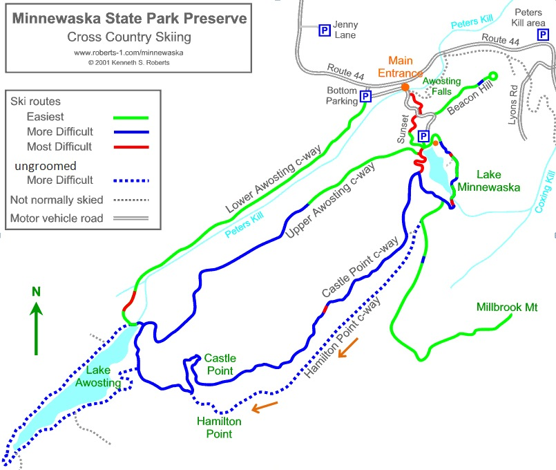lake-minnewaska-ski-trail-map