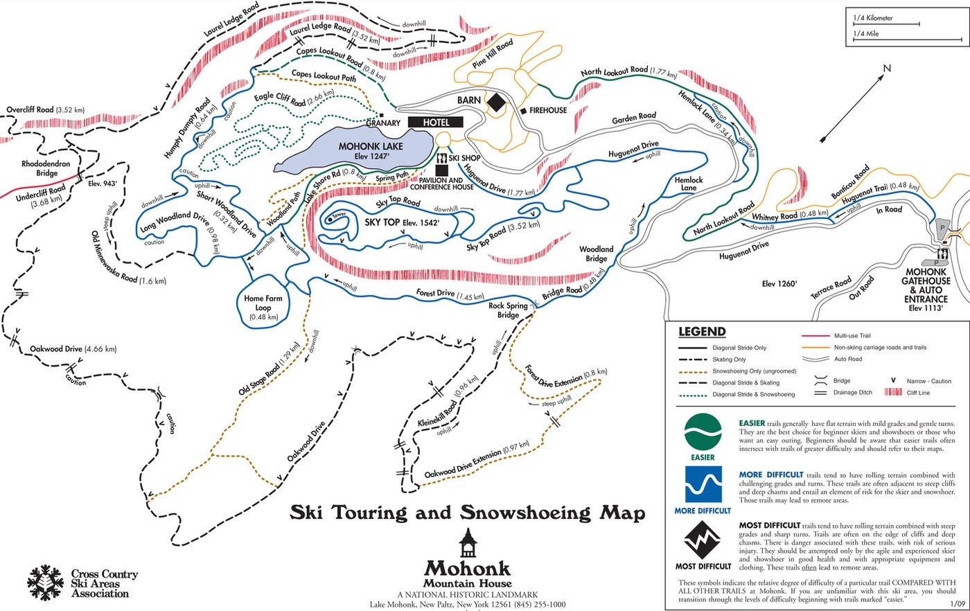 mohonk-ski-trail-map