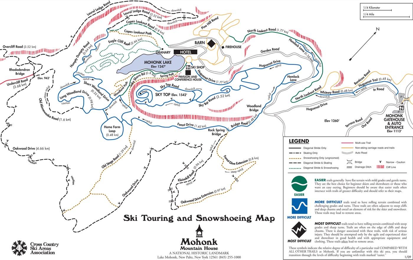 mohonk-ski-trail-map