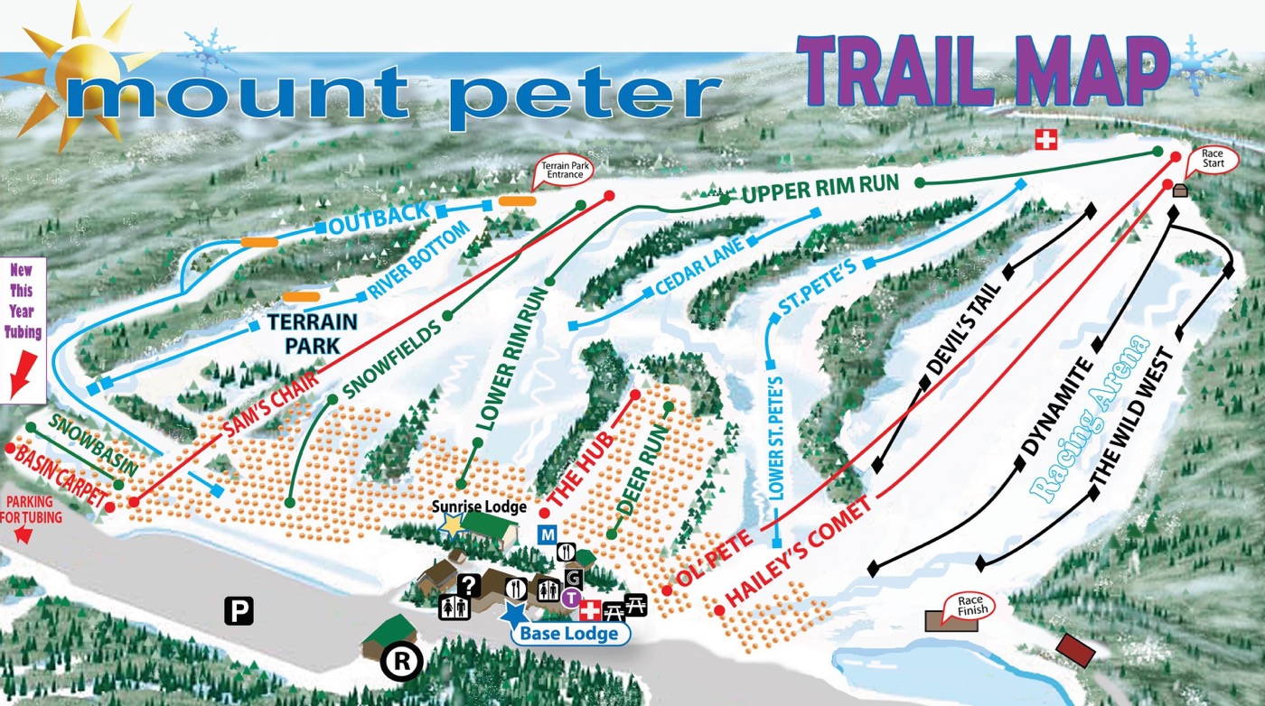 Trail Map 15-16