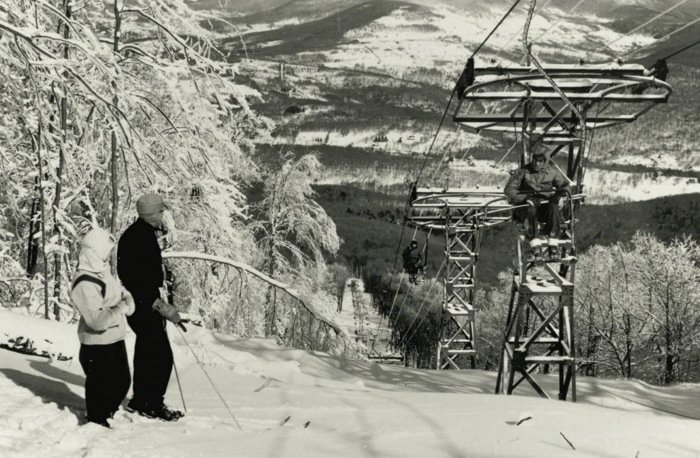 New York's first chairlift